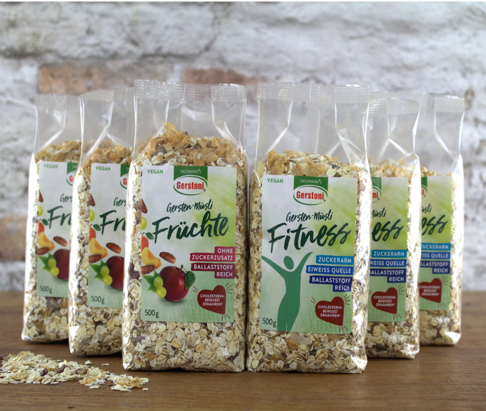 Gersten-Müsli Mixed 2x3er-Pack