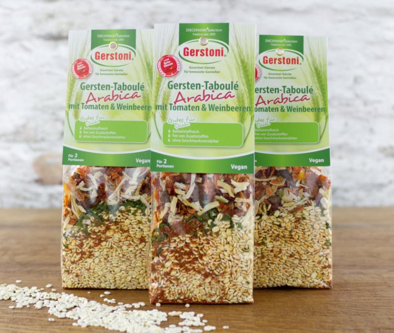 Gersten-Taboulé Arabica mit Tomaten & Weinbeeren 3er-Pack